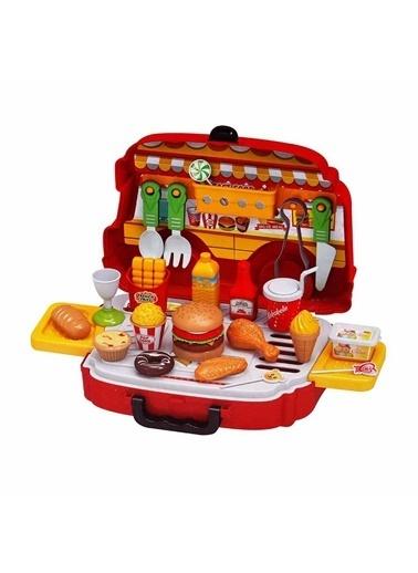 Sunman Sunman S00002745 36 ParÇa Little Chef Oyuncak Hamburger Karavanı Renkli